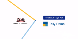 shortcut keys for tally prime labh software